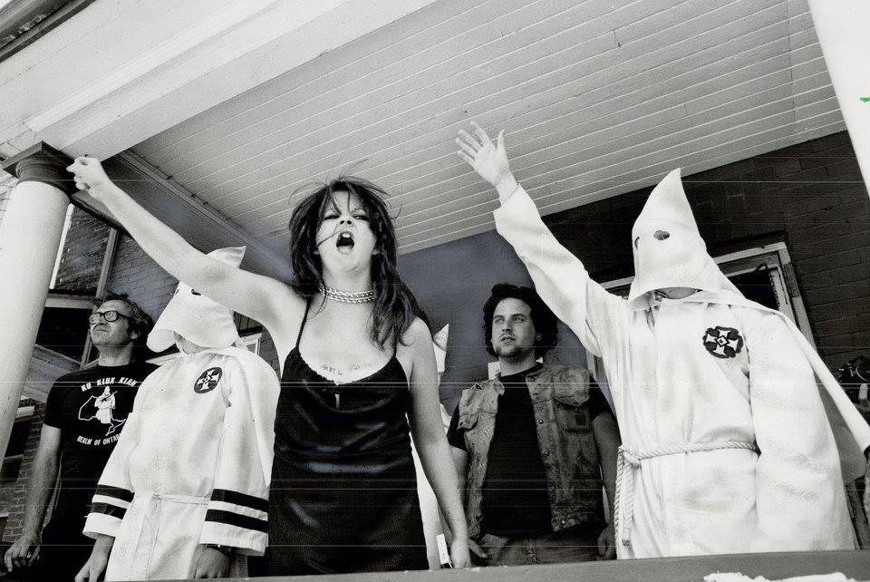 The Toronto chapter of the KKK